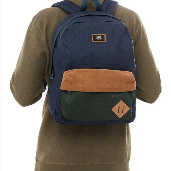 abortar deficiencia lo mismo  Vans Bags | Vans Unisex Old Skool Ii Backpack Dress Blues | Poshmark